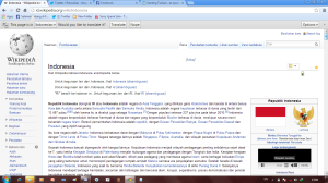 Screenshoot wikipedia